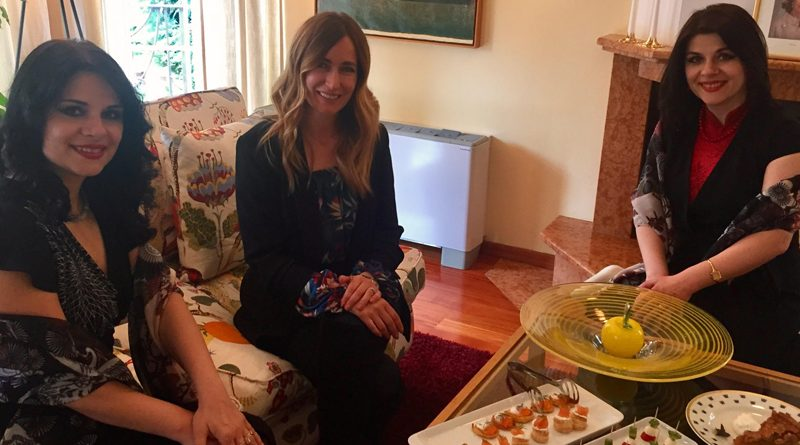 DMWC Lifestyle lounge interview Biljana Staffansson and Ljiljana Jovanovich