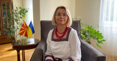 Interview with H.E. Mrs. Natalia Zadorozhniuk, the Ambassador of Ukraine in North Macedonia